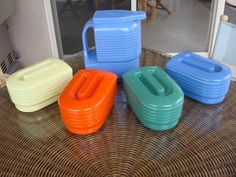 """HALL WESTINGHOUSE """"General"""" Refrigerator Set Complete 10 pcs. Mint Condition #HALL"""
