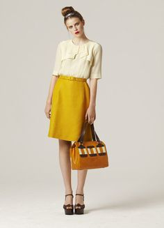 Oh, mustard, how I love you as a wardrobe color, but not a condiment.