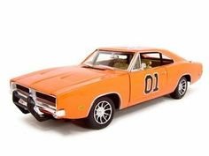 1969 Dodge Charger Dukes of Hazzard General Lee Diecast Model 1:18 Die Cast Car by Rc2. $44.99. Brand new diecast model, perfectly detailed and has new box.. This is a very detailed replica of 1/18 scale 1969 Dodge Charger Dukes Of Hazard diecast model car 1:18 scale die cast. Opening Doors, Opening Hood, Detailed Interior, Rubber Tires, Steerable Wheels, Perfectly modeled engine, Accurate Gauges and dash inside. 1969 Dodge Charger Dukes Of Hazard diecast model car...