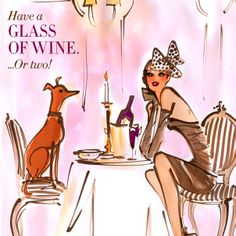 Have a glass of wine. Or two. #31DAYSOFHB
