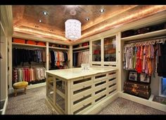 Closet inside Paul Williams-Designed Holmby Hills Mansion// swoon!!