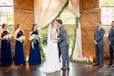 The Foundry at Puritan Mill Wedding :: Meagan + Brandon :: with Tyler Formal Wedding, Wedding Ceremony, Atlanta Wedding, Bridesmaid Dresses, Wedding Dresses, Social Events, Local Artists, Wedding Photos, Wedding Ideas