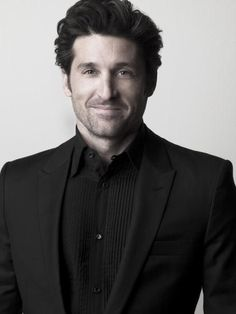 PATRICK DEMPSEY had a learning disability, worked hard,became a movie star, and now uses his money to fight cancer. Sullivan Patrick Dempsey, Grey's Anatomy, Patrick Demsey, Gorgeous Men, Beautiful People, Derek Shepherd, Good Looking Men, American Actors, Mannequins