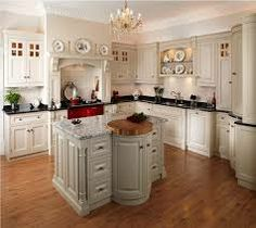 Love the character in this kitchen...