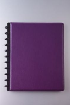 Staples®. has the M by Staples™ Arc Customizable Leather Notebook System, Purple, 9-1/2'' x 11-1/2'' you need for home office or business. FREE delivery on all orders over $19.99, plus Rewards Members get 5 percent back on everything!