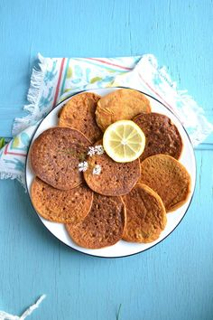 Blinis de patate douce