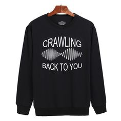arctic monkeys, crawling back to you Sweatshirt Sweater Unisex Adults size S to…