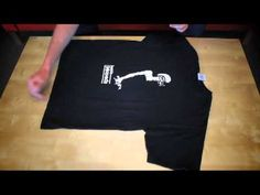 How to Fold a T-Shirt, Japanese Style  There's no perfect way to fold a t-shirt, but the Japanese style may be close. #picsandpalettes   #tshirt