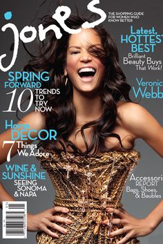 New magazine, Jones, a high fashion, fashion, beauty, accessories, and even home décor magazine that features African American women. A large volume African American writers/photographers (note: there are non African American contributors as well), and ads featuring African American women.