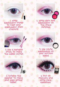 lolita eye make up