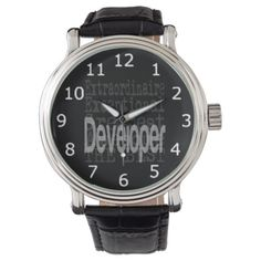 Developer Extraordinaire Wrist Watch