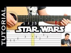 Cómo tocar Star Wars en guitarra acústica fácil COMPLETO - YouTube