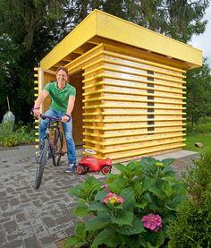 Come costruire una casetta di legno da giardino? Esistono differenti soluzioni... ma questa è davvero originale! Guida completa passo-passo alla costruzione
