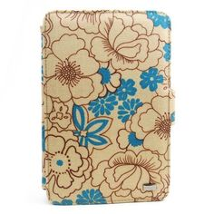 JAVOedge Poppy Axis Case for the Amazon Kindle Fire (Sky Blue) - Latest Generation by JAVOedge. $32.95. Customize the view of your Kindle Fire with the cheerful Sky Blue Poppy Axis Case. The Poppy Case is abloom with brightly colored wildflowers that will add a pop of color to your Fire. The coated canvas material makes cleaning up the case safe and easy. The Axis design allows the Fire to be propped up in both the horizontal and vertical positions and 3 built-in grooves...