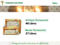 """La Biblia Católica tiene 73 Libros AT: 46 Libros NT: 27 Libros Las Biblias no Católicas tienen 66 libros. No tienen los siguientes libros: Tobías,Judit, Ester I, Macabeos II, Macabeos, Sabiduría, Eclesiástico (también llamado """"Sirac""""), Baruc"""
