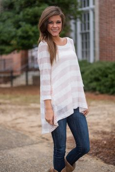 Such a cute top for valentine's day!