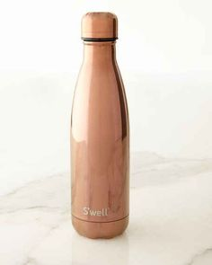 Shop for S'well Reflective Rose Gold Reusable Bottle by Swell at ShopStyle. Rose Gold Water Bottle, Swell Water Bottle, Cute Water Bottles, Drink Bottles, 21 Things, Things To Buy, Gold Everything, Fancy Pants, Fancy Dress