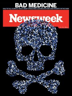 Half of all clinical trials are never published, and Big Pharma wants to keep it that way. A Newsweek report reveals a Big Pharma cover up. http://www.newsweek.com/2014/11/21/medical-science-has-data-problem-284066.html