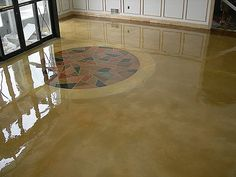 concrete floor finishes | ... concrete floor finishes that will add life, vibrancy and a unique