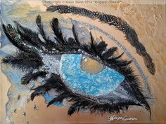 """"""" Regard Céleste """" ( Celestial Glance ) - MayaSunn Oeuvre D'art, Les Oeuvres, Creations, Wreaths, Celestial, Halloween, Gallery, Decor, Decoration"""