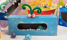 Gruuuuuselig? Nein, die Schachteln im Monster-Look sind ein echter Hingucker fürs Kinderzimmer. Profissimo kreativ erklärt Ihnen Schritt für Schritt, wie...
