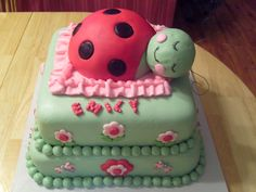 Ladybug Cake  pop Ideas | Ladybug Cake - Cake Decorating Community - Cakes We Bake