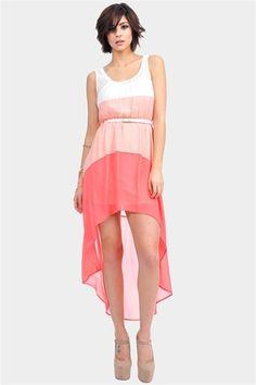 Cute hi low dress