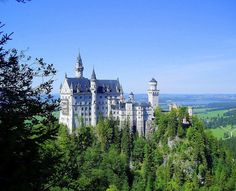 Neuschwanstein - The ultimate fairytale castle, Neuschwanstein is situated on a rugged hill near Füssen in southwest Bavaria. It was the inspiration for the Sleeping Beauty castles in the Disneyland parks. The castle was commissioned by King Ludwig ll