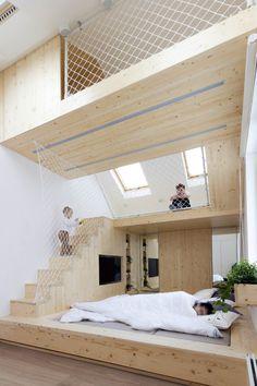 Dormir y Jugar / Ruetemple | Plataforma Arquitectura
