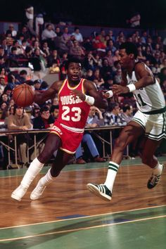The speedy Calvin Murphy.    For all the latest Houston Rockets news and updates, visit www.rockets.com.