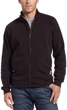 Quality stuff.  Bekleidung, Herren, Sweatshirts & Kapuzenpullover, Sweatshirts Carhartt, Fruit Of The Loom, Mock Neck, Rib Knit, Bomber Jacket, Men Sweater, Mens Fashion, Sweatshirts, Sleeves
