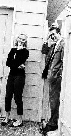 Eva Marie Saint & Paul Newman