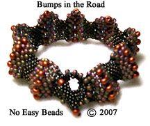 Instant Download - Bumps In The Road Bracelet Pattern