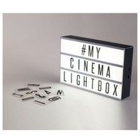Home | A Set 90 letters Replacement Fit For Cinematic Lightbox Cinema Letter Light Box