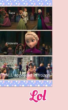 Haha wellllllll rapunzel isnt really a surprised cause there cousins