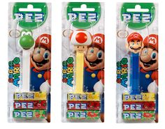 PEZ Super Mario_packaging, via Flickr.