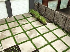 love pavers with grass for a backyard  entertaining area