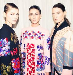London Fashion Week Diary peter Pilotto AW/14.