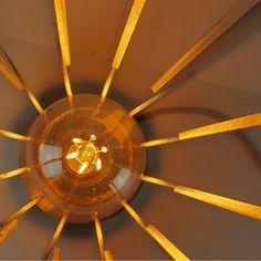 Luminaire déco Inox brossé abat jour papier Japon artisanal en option  tranche polies miroir en option ampoule Edison led 4,5w H37 x 28cm Modèle déposé Modèle adaptable à  vos mesure sur demande