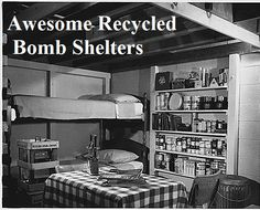 If you have been considering building a fallout/survival shelter or bunker, but you don't know where to start, you've come to the right place today. Building some kind of bunker/shelter is usually high on the to-do list for most preppers. Doomsday Prepping, Survival Prepping, Emergency Preparedness, Survival Skills, Emergency Preparation, Emergency Shelters, Survival Gear, Emergency Planning, Emergency Kits