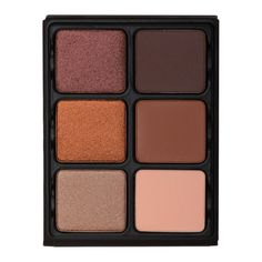 <p>Three full range warm neutral matte tones create a mid-tone neutral eye for daytime to evening including one universal crease and brow shade for medium to dark tones. Three shades for a deeper shimmer and an alluring satin glow look. Unique compact palette with removeable pans, that also folds into a working easel.  </p> <p>6 x 0.13 oz</p>
