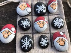 Merrytime Cruise FE Idea // Merrytime Fish Extender // Kids Tic Tac Toe // Travel Game // Toddler Stocking Stuffer // Kids Merrytime FE Idea – Valentine Crafts For Kids Christmas Rock, Christmas Themes, Holiday Crafts, Christmas Decorations, Christmas Ornaments, Xmas, Kids Crafts, Sheep Crafts, Kids Diy
