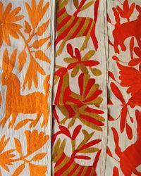 The Lulu Bird: otomi textiles