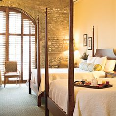 HarbourView Inn, Charleston, SC | With killer harbor views from the rooftop terrace, the hotel sits at the crossroads of seclusion and convenience. | SouthernLiving.com