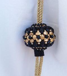 Tutorial PDF, Pattern PDF, beaded bead, pinch beads, diamonduo, miniduo, beaded…