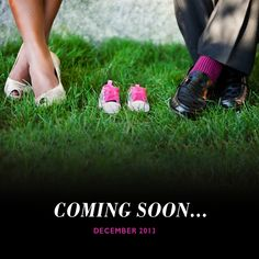 pregnancy announcement gender baby. like the movie style of the announcement