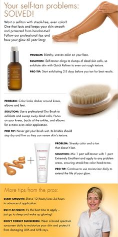 self tanning tips and tricks