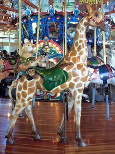 Richland Carrousel Park Carrousel,  Carousel Works Giraffe