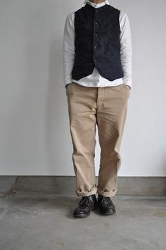 GARMENT REPRODUCTION OF WORKERS/ガーメント リプロダクション オブ ワーカーズ FARMERS VEST