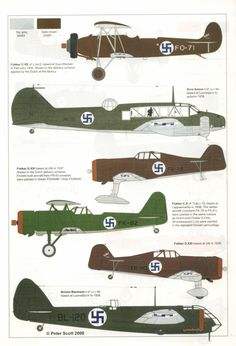 The Suomen Ilmavoimat (Finnish Air Force) Ww2 Aircraft, Military Aircraft, Finnish Civil War, Ukraine, Finnish Air Force, Imperial Army, Flying Boat, Japan, Aviation Art